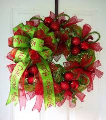 christmas mesh wreaths wire mesh wreaths christmas mesh christmas wreath with