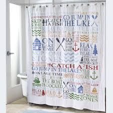 Touch Of Class Shower Curtains Lake Words Shower Curtain
