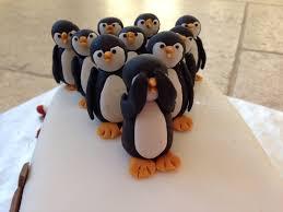 15 best photos of penguin cake decorations christmas penguins