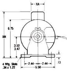c036 century 1 3 hp nesbitt replacement motor 115 vac 850 rpm