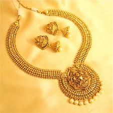 antique jewelry necklace sets images Buy antique temple jewellery pearl necklace set online JPG