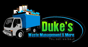dukes waste management junk removal trash removal