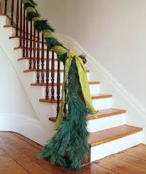Banister Decor 30 Simple Festive Holiday Decor Ideas Real Simple