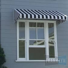 Cloth Window Awnings Fixed Canopy Fabric Awning Franklyn Blinds Awnings Security