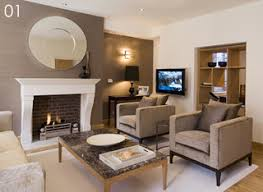 living room accent wall with fireplace in a small room the focal