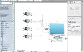 basic cctv system diagram cctv network diagram example cctv