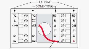 new home thermostat wiring diagram honeywell thermostat wiring