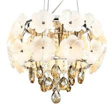 small crystal bedroom ls drum chandeliers and crystal material modern style