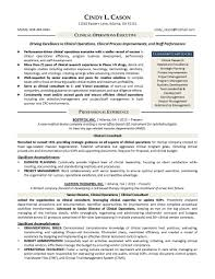 resume format for operations profile resume samples program finance manager fp a devops sample clinical operations executive resume sample provided by elite resume writing services