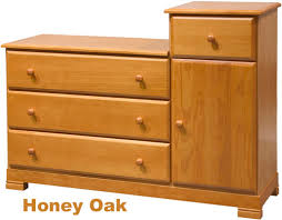 Pecan Changing Table Solid Wood Changing Table Dresser Bestdressers 2017