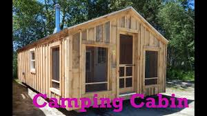 14x26 camping cabin otr over the road legal deliver fully