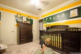bay bay baby jacob s green bay packers nursery project nursery