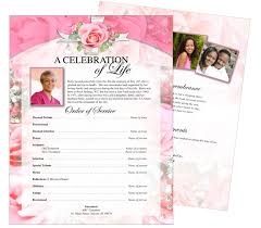 beautiful funeral programs printable funeral memorial flyers sles one page fly and funeral