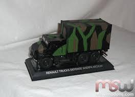 renault trucks defense model norev renault truck defense sherpa 5 military vehicle 1 43