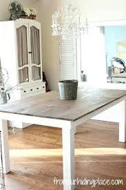 white wood kitchen table oak distressed white wood kitchen table