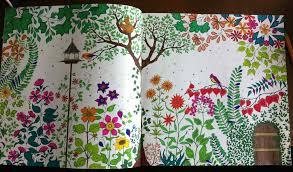 Livre Coloriage Adulte Jardin Secret Collezione Jardin Secret Carnet