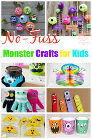 12 no fuss monster crafts for kids they u0027ll love any time of year