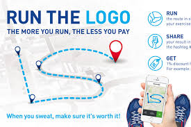 intersport intersport run the logo interactive video creativity online