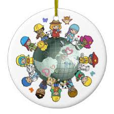 children of the world ornaments keepsake ornaments zazzle