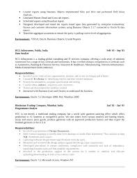 Data Analyst Sample Resume by Sample Resume On Crystal Reports Bibtex Thesis Style