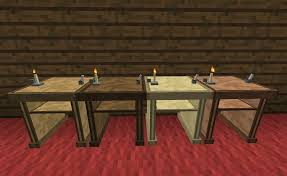 How To Make Couch In Minecraft by Desk Bibliocraft