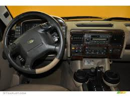 Discovery Interior Bahama Beige Interior 2002 Land Rover Discovery Ii Se Photo