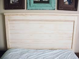 Distressed Wood Headboard by Rustic Wood Headboard Farmhouse Master Bedroom Finds On Amazon