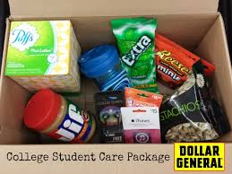 college care packages student care package from dollargeneral
