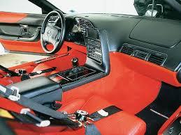 Custom Corvette Interior 1996 Chevrolet Corvette Custom C4 Grand Sport Clone Vette Magazine