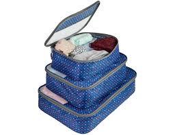 Oklahoma Travel Cubes images Travelon set of 3 packing cubes diamond sparkle ashx