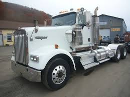 a model kenworth trucks for sale 2005 kenworth w900 tandem axle day cab tractor for sale by arthur