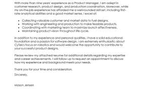 Product Resume Product Marketing Manager Cover Letter Twhois Resume