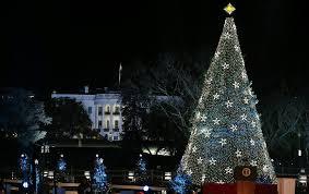 president obama lights national christmas tree minnesota public