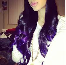 weave hairstyles with purple tips dark purple hair love 3 hairstyles makeup tips odds and ends