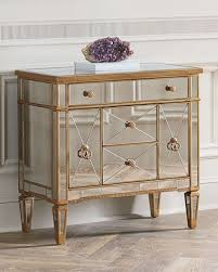 Chest End Table Mirrored Furniture Coffee U0026 Side Tables And Cabinets At Neiman