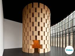 karton design sound architecture by zimoun