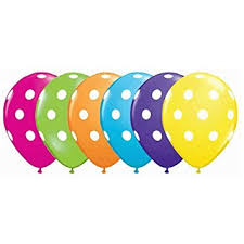 qualatex balloons polka dot balloons 11 balloons by qualatex