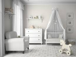 Nursery Decor Baby Nursery Decor Modern White Colored Large Room Space Babies
