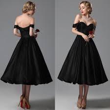 2015 vintage black wedding dresses a line sweetheart off shoulder