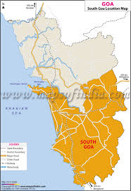 South India Map by South Goa Location Map Where Is South Goa