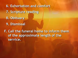 Words Of Comfort For Funeral Handling Funerals I Introduction Every Death That Takes Place