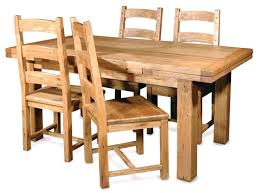 Solid Oak Dining Room Furniture Splendid Solid Wood Dining Table Sets Modern Reclaimed Rustic Room