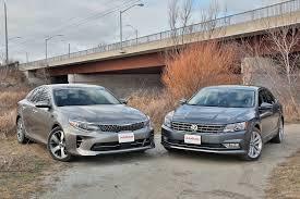 nissan altima 2013 vs kia optima 2016 kia optima vs volkswagen passat autoguide com news