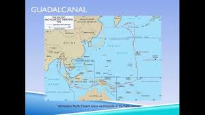 Guadalcanal Map 1942 Wwii Pacific Battles Youtube