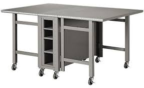 Marvellous Folding Craft Table With Storage Martha Stewart Living