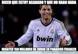 Memes De Ronaldo - los memes de cristiano ronaldo y hacienda