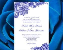 wedding invitations royal blue navy blue yellow wedding invitations kaitlyn