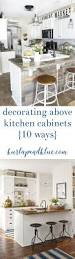 kitchen cabinet decorative accents above kitchen cabinet decorative accents greenery above kitchen
