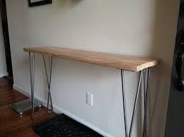 Contemporary Entryway Table Top Contemporary Entryway Table With