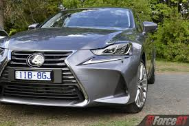 lexus is or bmw 3 2017 lexus is 200t sports luxury review forcegt com